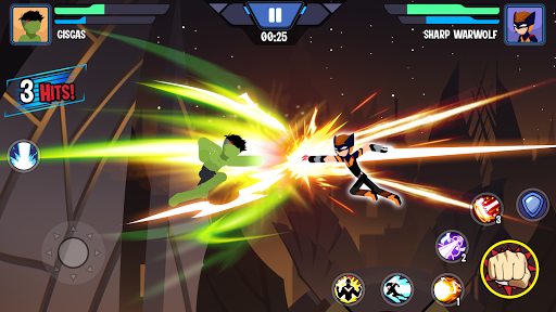 Stickman Superhero - Super Stick Heroes Fight  screenshots 5