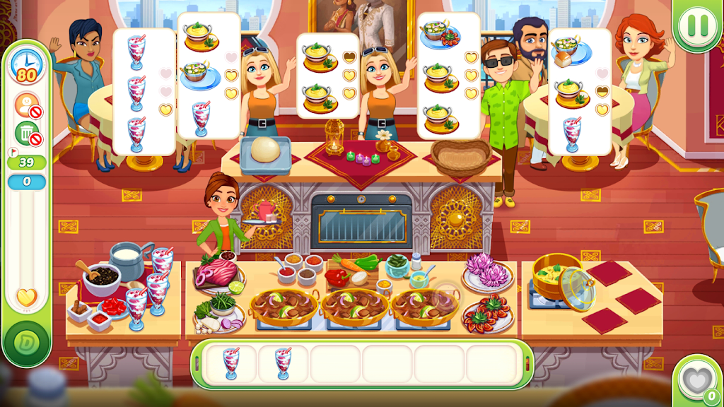 Delicious World - Cooking Restaurant Game poster 4