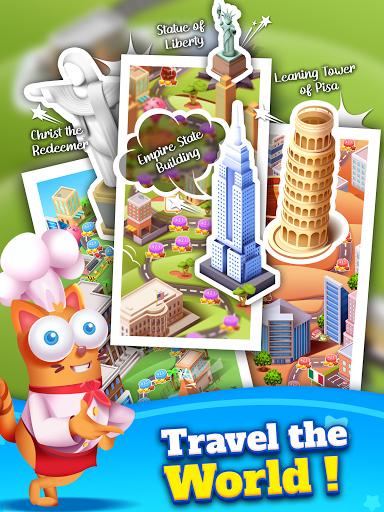 Kitten Games - Bubble Shooter Cooking Game apkmr screenshots 13