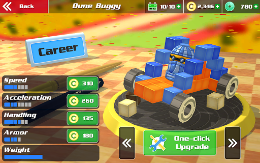 Pixel Car Racing - Voxel Destruction 1.1.2 screenshots 7