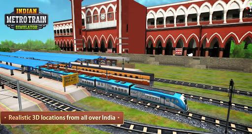 Indian Metro Train Simulator 2020  screenshots 2