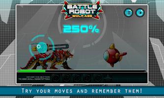 Battle Robot Wolf Age Assembling Game