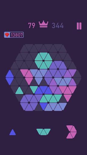 Trigon : Triangle Block Puzzle Game  screenshots 4