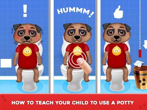 Baby's Potty Training - Toilet Time Simulatorのおすすめ画像2