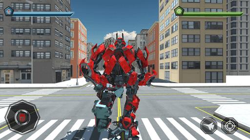 Air Robot Game - Flying Robot Transforming Plane  screenshots 4