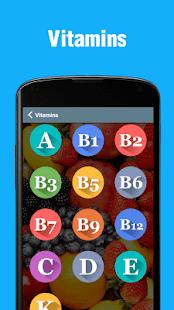 Vitamins - Sources, Deficiency & Health Tips 0.0.2 Screenshots 2