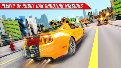 Lion Robot Car Transforming Games: Robot Shooting 1.8 Screenshots 12