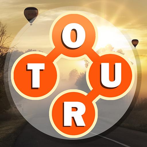 Word Travel:World Tour via Crossword Puzzle Game APK