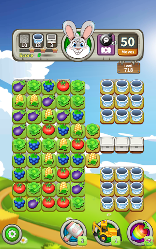 Farm Raid : Cartoon Match 3 Puzzle  screenshots 14