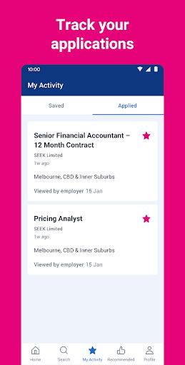 seek job search screenshot 3