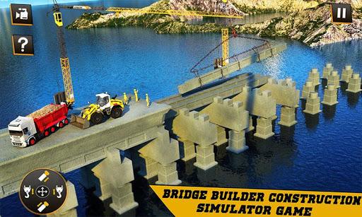 City Bridge Builder Construction Simulator Games  screenshots 2