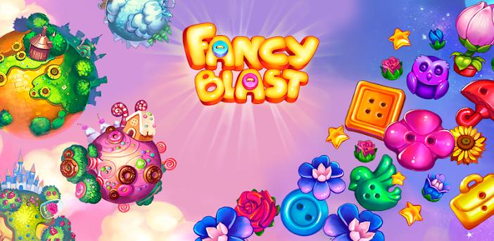 Fancy Blast - Das 3-Gewinnt Puzzle im Märchen-Wald