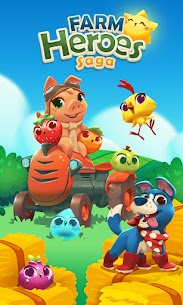 Baixar Farm Heroes Saga MOD APK 5.54.2 – {Versão atualizada} 5