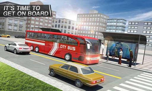 Coach Bus Simulator - City Bus Driving School Test 2.1 screenshots 5