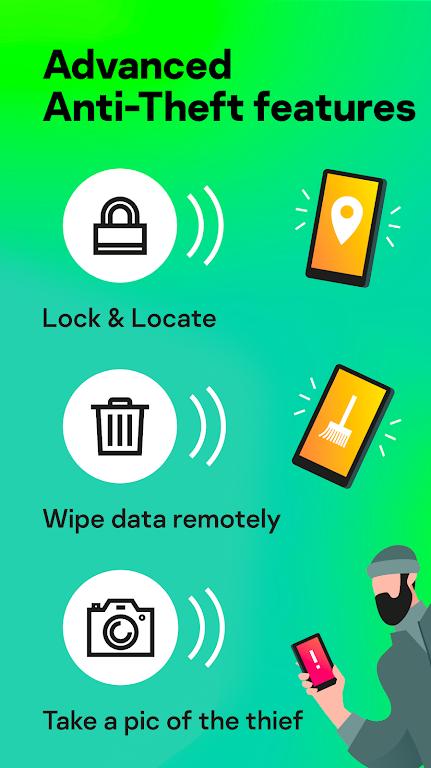 Kaspersky Mobile Antivirus: AppLock & Web Security poster 5