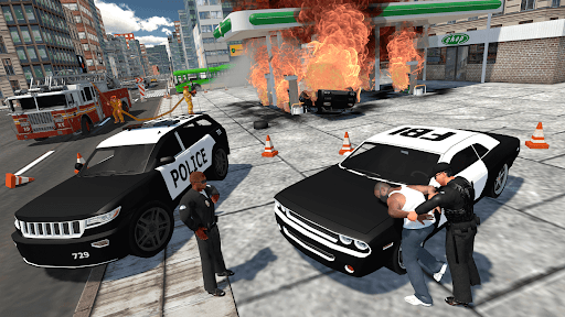 Cop Duty Police Car Simulator  screenshots 3