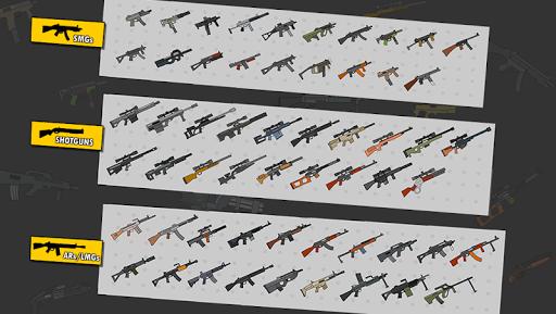 Gun Fight:One Stickman Jump Combat Game  screenshots 2
