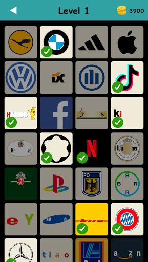 Logo Test: Germany Brands Quiz, Guess Trivia Game  screenshots 1