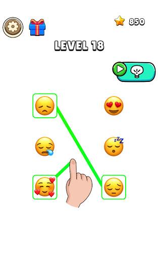 Emoji Connect Puzzle : Matching Game 0.6.6 screenshots 1