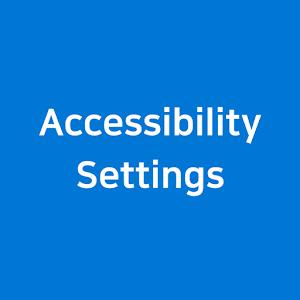 Accessibility Settings Shortcut