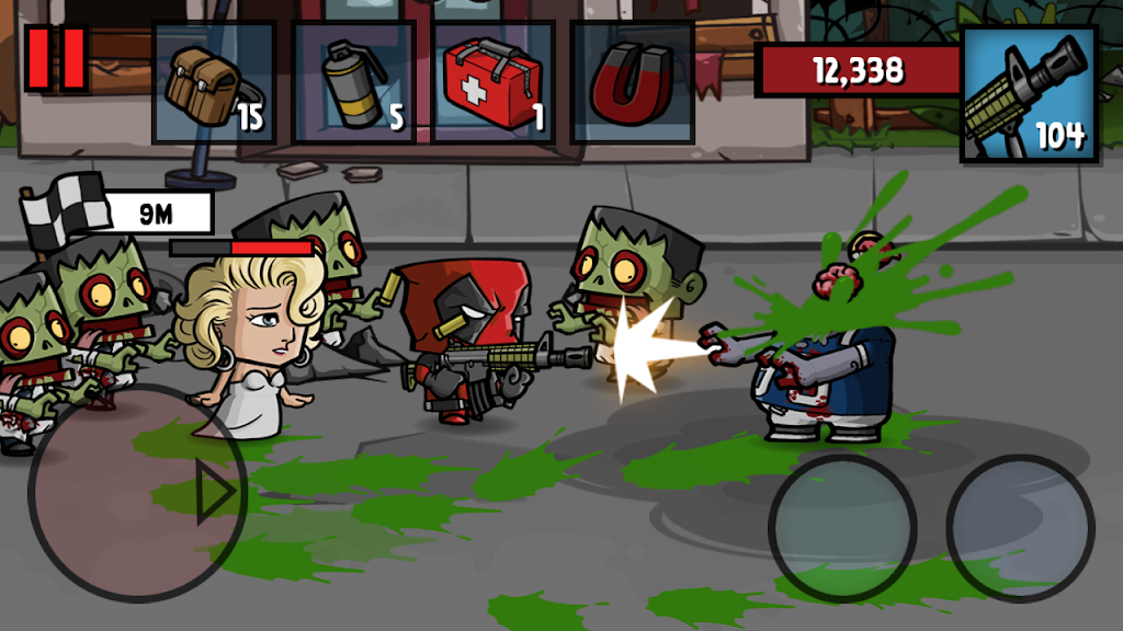 Zombie Age 3: Shooting Walking Zombie: Dead City  poster 1