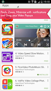 Video Popup Player Floating with Background Music v1.47 [Pro] 1