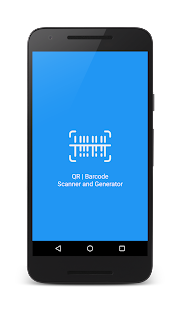 QR and barcode scanner and generator for Android Screenshot