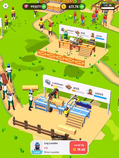 Idle Lumber Mill 1.3.1 screenshots 9