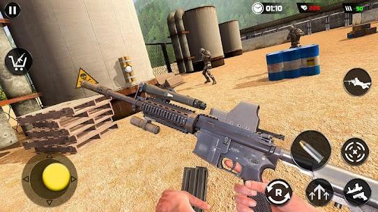 Real Commando Secret Mission: Army Shooting Mod Apk (God Mode) 4