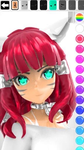ColorMinis 3D Art Coloring & Painting Design Game  screenshots 1