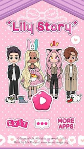 Lily Story : Dress Up Game Mod Apk 1.5.8 (Free Shopping) 1