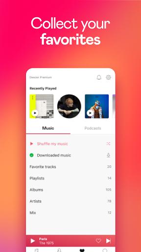 Deezer Music Player: Songs, Playlists & Podcasts screenshots 7