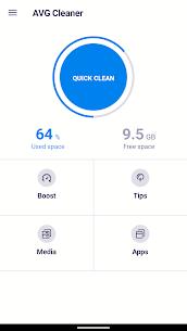 AVG Cleaner Pro + Mod APK (No Ads, Premium Unlocked) – Updated 2021 1