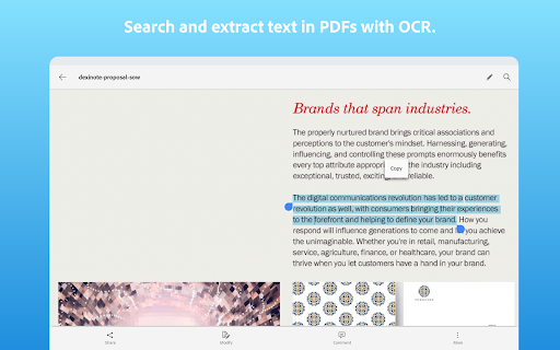 Adobe Scan: PDF Scanner with OCR, PDF Creator android2mod screenshots 13