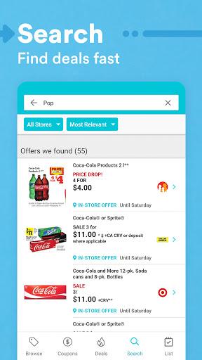 Flipp - Weekly Shopping modavailable screenshots 5