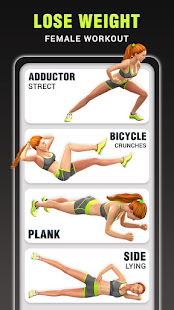 Workout App for Women - Fitness Workout at Home