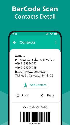 QR Code Scanner App - Barcode Scanner & QR reader android2mod screenshots 19