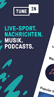 TuneIn Radio: Nachrichten, Musik, Sport & Podcasts Screenshot