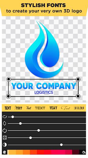 3D Logo Maker: Create 3D Logo and 3D Design Free 1.2.8 Screenshots 3
