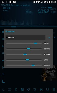 Simple & Lightweight Music Player LMZa Patched APK 4
