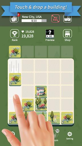 Age of City Tour : 2048 merge screenshots 1