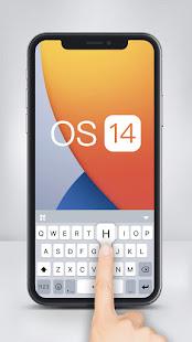 OS 14 Style Keyboard Theme 6.0.A Screenshots 1
