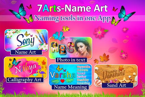 Name Art Photo Editor - 7Arts Focus n Filter 2021  Screenshots 17