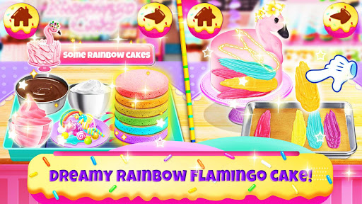 Unicorn Chef: Baking! Cooking Games for Girls apklade screenshots 2