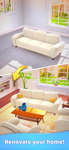 Merge Decor:家のデザインとリフォームのゲームのおすすめ画像1