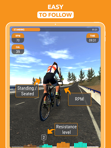 CycleGo - Indoor Cycling Workouts 3.4.1 Screenshots 8