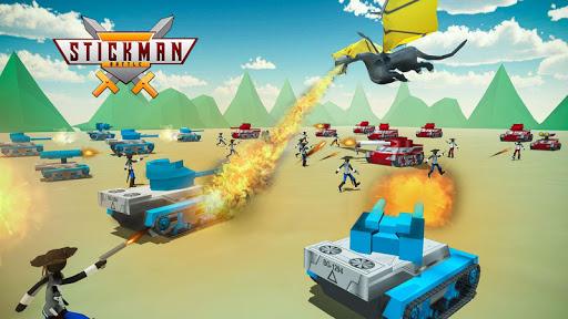 stickman battle simulator - stickman warriors screenshot 3