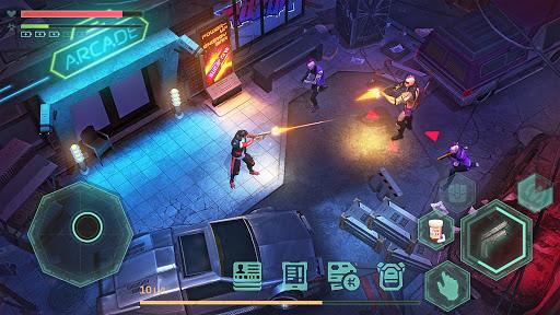 Cyberika: Action Adventure Cyberpunk RPG  screenshots 2