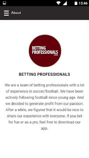 betting professionals screenshot 3