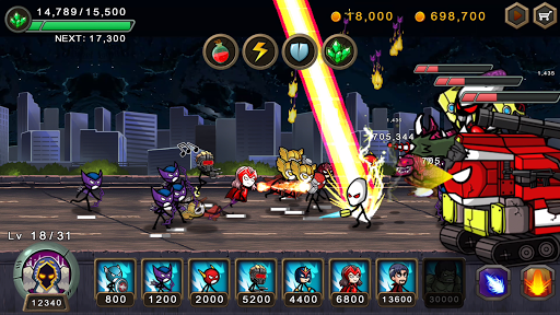 HERO WARS: Super Stickman Defense 1.1.0 screenshots 6
